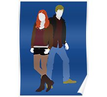 Amy and Rory - Doctor Who Poster