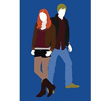 Amy and Rory - Doctor Who Photographic Print