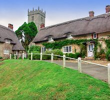 Godshill - I.O.W. by Colin  Williams Photography