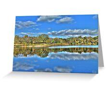 Autumn at the Lake 3 Greeting Card