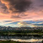 Estes Park at sunset by Joey James