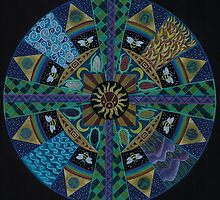 Sacred Geometry of the Council  by Heddi Neale