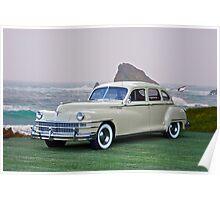 1947 Chrysler 'New Yorker' Sedan Poster