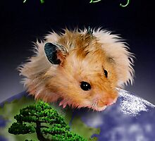 Arbor Day Hamster by jkartlife