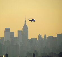 New York City Copter by Alberto  DeJesus