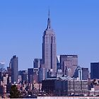 NYC Skyline by VDLOZIMAGES