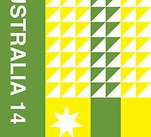 Australia 2014, World Cup QFD by danielofdesign