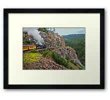 Mountain Top Train Ride Framed Print