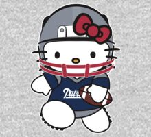 Hello Kitty Loves The New England Patriots! by endlessimages