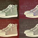 Christian Louboutin Mens Sneakers Pop Art by Arts4U