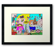 Eye Catching Framed Print