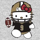 Hello Kitty Loves Drew Brees & The New Orleans Saints! by endlessimages