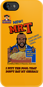 Mr. T - Cereal - T Shirt by Faction