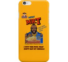 Mr. T - Cereal - T Shirt iPhone Case/Skin