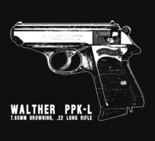 Walther PPK-L by deathdagger