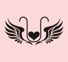 ELEXIER - HEART WITH WINGS - UNCONDITIONAL LOVE Kids Clothes