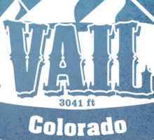 Vail Colorado Ski Resort Sticker