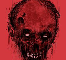 Zombie Head by carbine