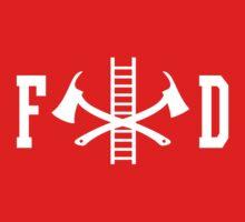FD Fire Department Logo Kids Clothes