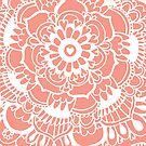 Coral Lacework Doodle by Tangerine-Tane