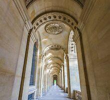 Musee du Louvre, Paris 2 by John Velocci