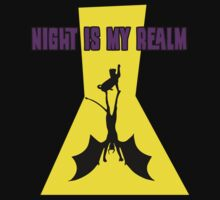 Night Is My Realm Kids Clothes