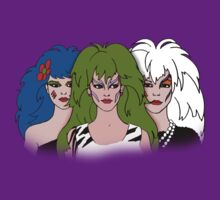 Jem and the Holograms - The Misfits - Group Color by DGArt