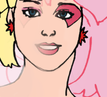 Jem and the Holograms - Jerrica/Jem - Color Sticker