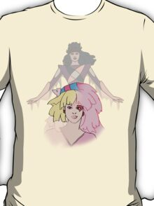 Jem and the Holograms - Jerrica/Jem with Synergy #2 - Color T-Shirt