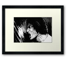 Blow Your Brains Out  Framed Print