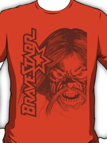 BraveStarr - Tex Hex # 2- Grey Line Art T-Shirt