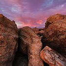 Over Boulders by Bob Larson