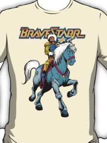 BraveStarr - Thirty Thirty and BraveStarr #4  - Color T-Shirt