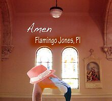 Flamingo Jones PI - Amen by Kathleen Grace