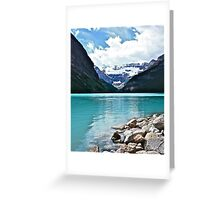 Lake Louise Alberta Greeting Card