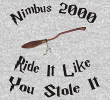 Harry Potter - Nimbus 2000 by appfoto