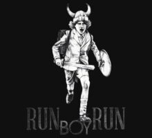 Run Boy Run Art by santilopez