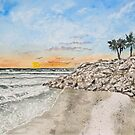 Bradenton beach Florida seascape print by derekmccrea