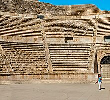 The Roman Theatre2, Amman by bulljup