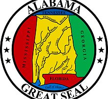 Alabama | State Seal | SteezeFactory.com by FreshThreadShop