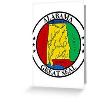 Alabama | State Seal | SteezeFactory.com Greeting Card