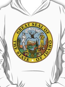 Idaho | State Seal | SteezeFactory.com T-Shirt