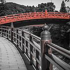 Shinkyo Bridge - Nikko Japan by Colin  Ewington