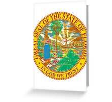 Florida Bricks | State Seal | SteezeFactory.com Greeting Card