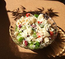 Macaroni salad by evonealawi