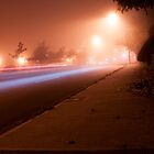 Foggy night in Vancouver by Stung  Photography