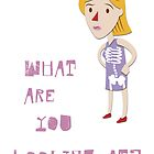 What are you looking at? by Hermoso Ilustración