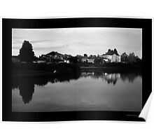 Fairways Village Lake, Craigieburn Poster