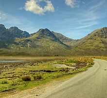 The Road To Elgol by VoluntaryRanger