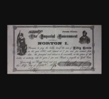 Emperor Norton Note by sflassen